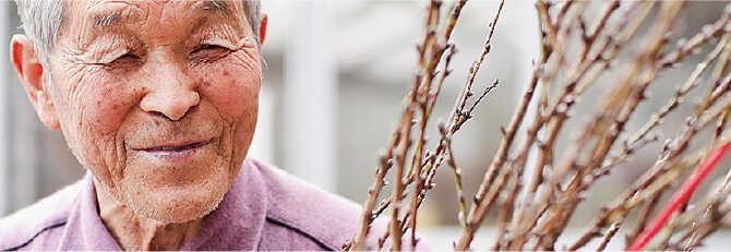 花見山公園二代目園主 故・阿部一郎氏の生涯花見山とともに歩んだ人生